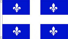5' x 3' Quebec Flag Canada Canadian Province Banner