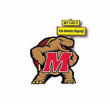 University of Maryland Terrapins Decal/Sticker Fear the Turtle Big 10 NCAA M1