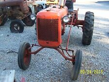 AC ALLIS CHALMERS C TRACTOR, WITH WIDE FRONT END AND 3 POINT HITCH