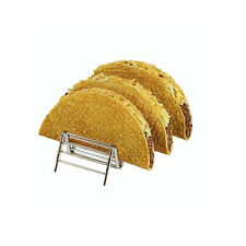 Taco Holder for 3 to 4 pcs,Mexican Foods Wire Rack,Holds Hard & Soft Shell F0073