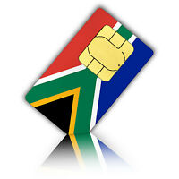 Nano SIM card for South Africa with 500 MB data fast mobile internet & 100 calli