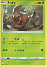 POKEMON SUN & MOON CARD: PINSIR - 6/149