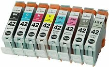 8PK CLI-42 CLI42 42 INK CARTRIDGE FOR CANON PRINTER Pixma Pro-100 Pro100