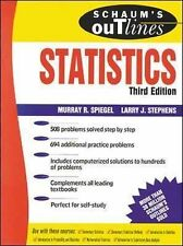 Schaum's Outline of Statistics - Murray R. Spiegel (Paperback, 1998)