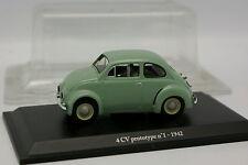 Eligor Presse 1/43 - Renault 4CV Prototype N°1 1942