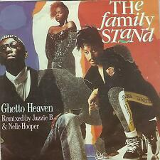 """THE FAMILY STAND """"GHETTO HEAVEN""""  7"""""""