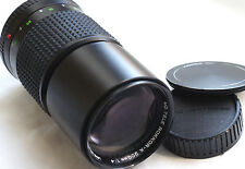 MINOLTA MD TELE ROKKOR-X  200mm f4 for mirrorles cameras JAPAN EXCELLENT