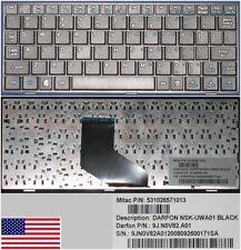 Clavier Qwerty US DOMESTIQUE MiTaC MiStation 8.9 , NSK-UWA01, 9J.N0V82.A01 NOIR