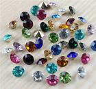 Pick 100/1000pcs 6mm mixed Point back Rhinestone Crystal Glass Chatons Strass