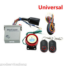 Universal Remote Anti-theft Alarm System Engine Start with Transmitter Motorcycl