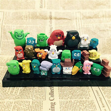 25pcs Fun Movie Angry Birds Action Figures Doll Set Kids Baby Boy Girl Toy Gift