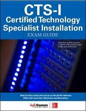 CTS-I Certified Technology Specialist Installation Exam Guide by InfoComm...