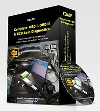 ALL-IN-ONE OBD 1 & 2 CAR DIAGNOSTICS - BEST SOFTWARE IN THE WORLD