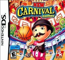 NEW Nintendo DS New Carnival Games Factory Sealed Mint In Box Free Shipping !