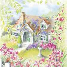 20 Paper Napkins HOUSE IN THE COUNTRY Decoration Flower Spring Decoupage 33x33cm