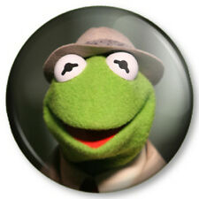 "Kermit The Frog 25mm 1"" Pin Button Badge Sesame Street Retro Kids TV Muppets (1)"
