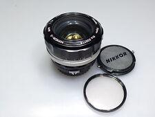 NIKON NIKKOR-S 55mm 1:1.2 Nippon Kagaku NON AI LENS W/CAPS L@@K