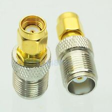 1pce Adapter TNC female jack to RP.SMA male jack RF connector straight F/M