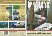 Lindner Fishing Deep Water Walleye  Structure Snap Rapping Moping DVD NEW