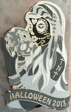 HRC HOLLYWOOD TNT 2013 HALLOWEEN Sugar Skull Girl B&W PIN 50 Thursday Nt Traders