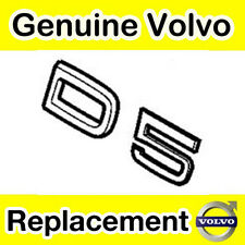 Genuine Volvo D5 portón de maletero/Emblema de inicio (modelos 2011 en adelante)
