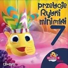 OKAZJA CD+DVD MINI MINI PRZEBOJE RYBKI  7 NOWOŚĆ