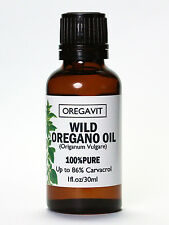 100%  WILD ESSENTIAL OIL OF OREGANO OIL 30ml/1oz  GREEK ORIGIN CARVACROL 86%