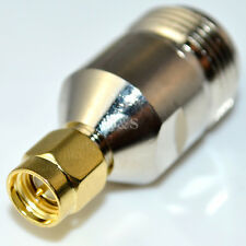 N Type Female Jack to SMA Male Plug Straight RF Coaxial Adapter Connector