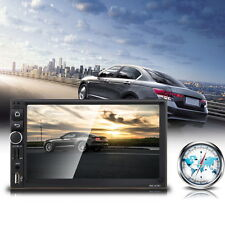 2DIN Bluetooth Wifi Écran Voiture Lecteur MP5 GPS Auto Radio Player Android 4.4