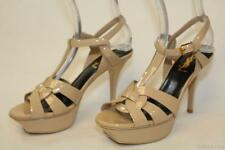 Yves St Laurent YSL NEW Tribute Womens 36 Patent Leather Sandals Shoes ITALY ajg