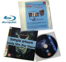 Slimdisc Bluray & Games Media Space Saving Cover Sleeve Storage System 25 Pack