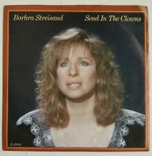 "Barbra Streisand Send In The Clowns Single 7"" UK 1985"