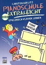 Pianoschule extraleicht - Klavierschule für Kinder mit CD - 9783933316981