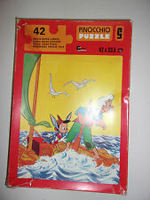 PUZZLE GOLDEN GAMES VINTAGE / WALT DISNEY - PINOCCHIO / 42 PIECES 42 X 33.5