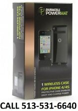 New Duracell Powermat Wireless Charging Black Case for iPHONE 4/4S