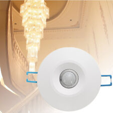 360°  PIR Ceiling Occupancy Recessed Motion Sensor Detector Auto- Light Switch