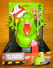 "GHOSTBUSTERS  6"" SLIMER FIGURE WITH SOUNDS STRETCH TOUNGUE PLAYS THEME SONG"