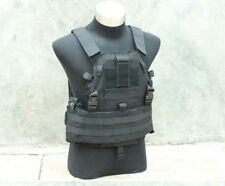 TMC Tactical Military 6094A style Swat Black SLICK Medium Plate Carrier Vest