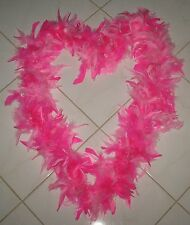 """PINK FEATHER BOA - NECK  - 72 """" LONG"""