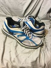 Nike Air Max 2012 + Running Shoes 487982-104 Mens Shoe 12 White/Blue Spark