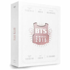 BTS MEMORIES OF 2015 DVD DIGIPAK 4 CD(DISC)+108p Special Foto Buch Sealed K-POP