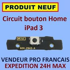 ✖ NAPPE CIRCUIT FLEX BOUTON HOME IPAD 3 WIFI/CELLULAR ✖ NEUF EXPEDITION 24H MAX✖