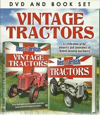 VINTAGE TRACTORS DVD & BOOK SET - BEST OF BRITISH - FARMING MACHINERY