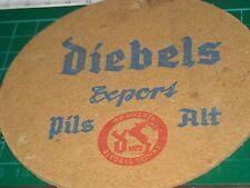 sottobicchiere beer mats birra bierdeckel DIEBELS EXPORT PILS