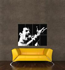 Poster impression photo MUSIC CONCERT ROCK STAR Freddie Mercury QUEEN chanteur seb416