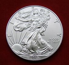 2015 Silver Dollar Coin ~ 1 troy oz AMERICAN EAGLE Walking Liberty .999 Fine BU