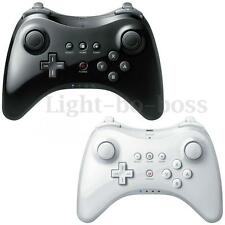 Wireless Classic Pro Controller Gamepad Per Nintendo WII U Nero/Bianco+USB Cable