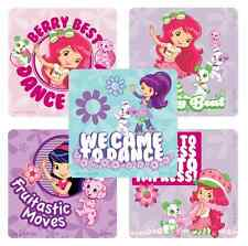"30 Strawberry Shortcake Dance / Music Stickers, 2.5""x2.5"" ea., Party Favors"