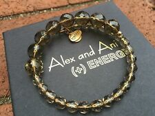 ALEX and ANI VINTAGE 66 EUPHORIA COLLECTION Smoke MELODY Beaded WRAP BRACELET