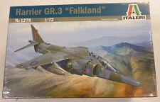 Italeri 1/72 Harrier GR.3 Falkland Model Kit 1278